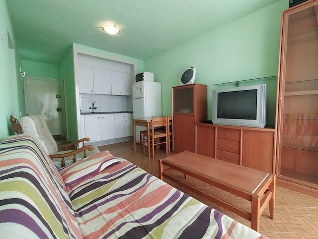 Apartamento de playa en zona tranquila del delta