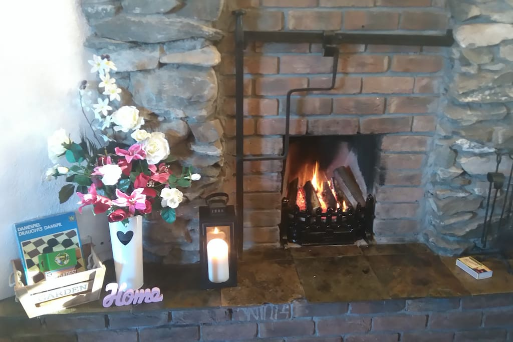 Home is where the hearth is!!