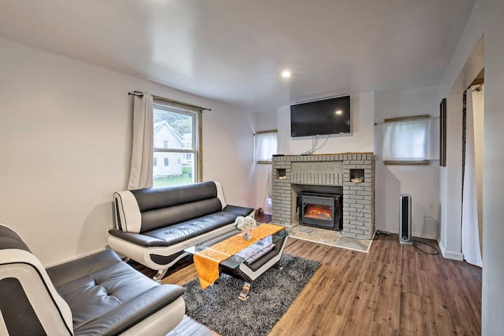 Gloversville House w/ Fireplace & Essentials!