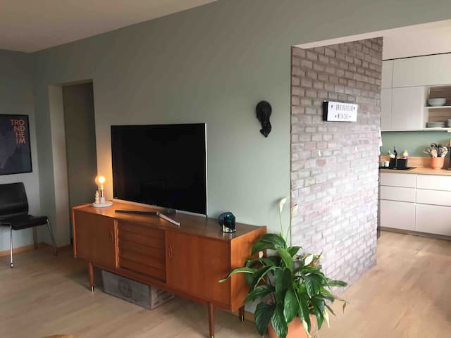 Modern, friendly and central two bedroom apartment