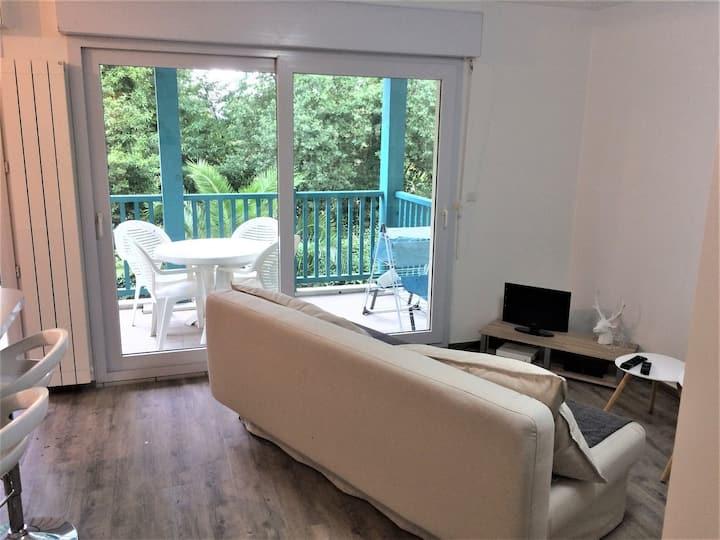 Charmant studio à Bidart avec terrasse