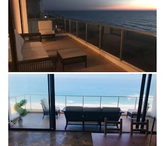 Apt 156m2 High standards front sea Plage Nations