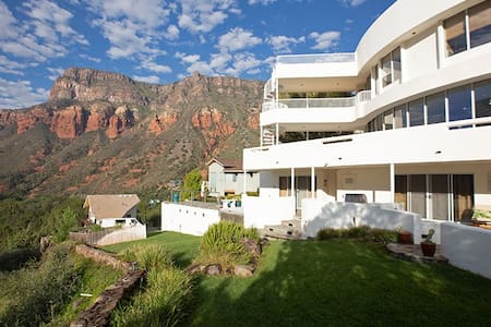 Spectacular Panoramic Views!! Grecian Style Home in Oak Creek Canyon! - S089