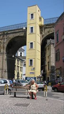The house under the famous Sanità bridge - Napoli - Casa