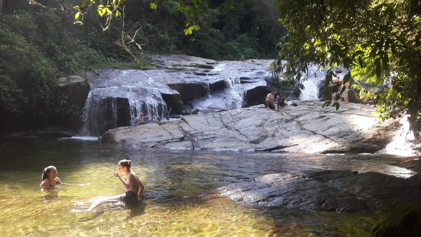Cachoeira em Boiçucanga - 4km