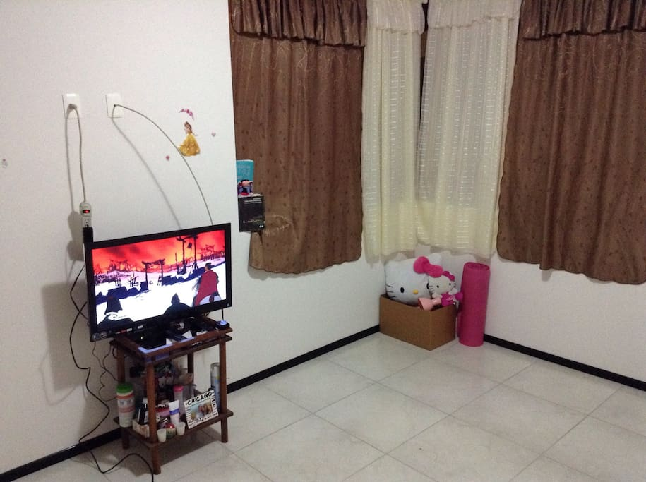 Televisión con cable y entrada HDMI para conectar a la tele y disfrutar de una proyección con netflix
