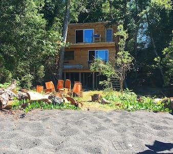 Casa a orilla de lago Calafquén - Licanray