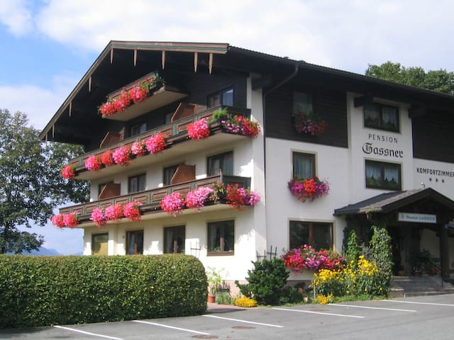 Comfortable B&B with balcony in the Alps