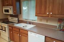 Kitchen view #1