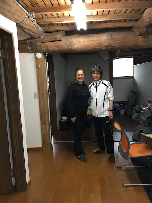 Motoyasu & Renee: Here to help you have a fantastic stay