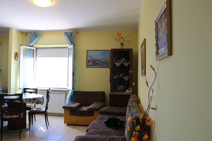 Appartamento prima fila mare con spiaggia privata - Porto San Giorgio - Apartamento
