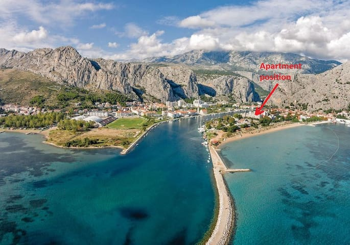Apartment very close to beach - Omiš - Leilighet