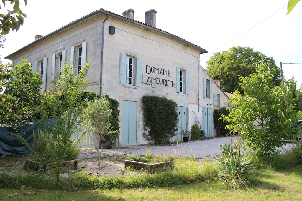 Façade du Domaine L'Amourette
