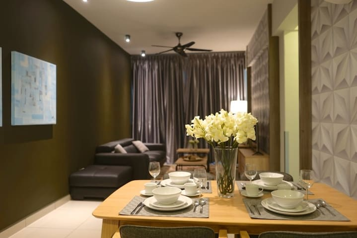 Cozy & Affordable Suite @ The Majestic Ipoh (2BR) - Ipoh - Apartament