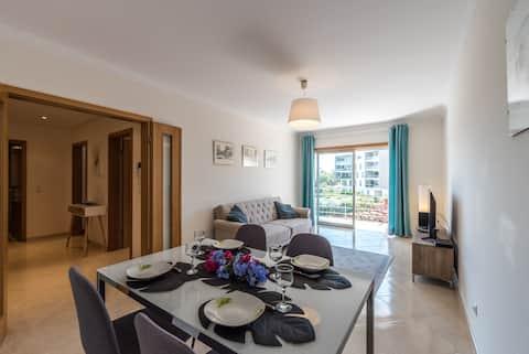 Elegante apartamento cerca de la playa y el centro con llegada sin restricción de horario