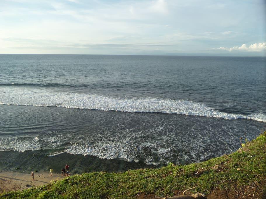 Nearest beach Balangan