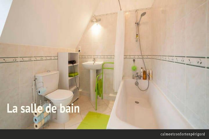 Calme et confort en Périgord - Carsac-Aillac - House