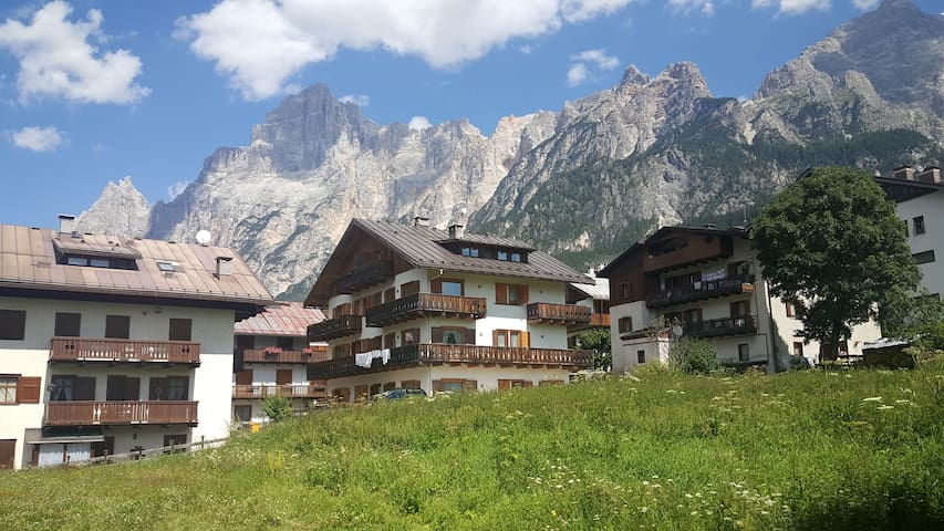 Lovely loft in central area - San Vito di Cadore - Lägenhet