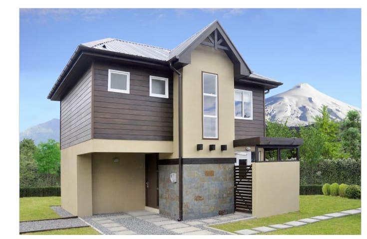 Casa Pucon - พูกอน - บ้าน