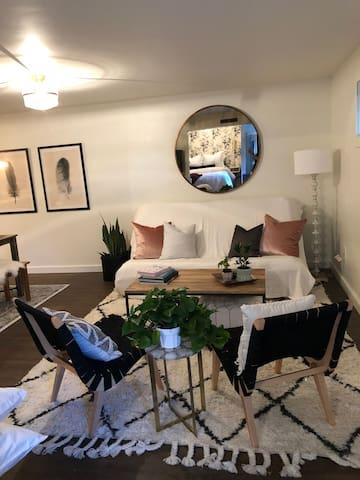 Downtown Garden Level Studio