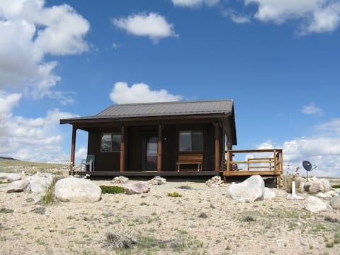 Baker Cabin in scenic Clark Wyoming
