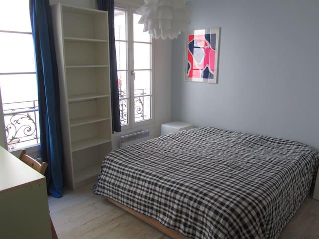 Private bedroom in the Marais