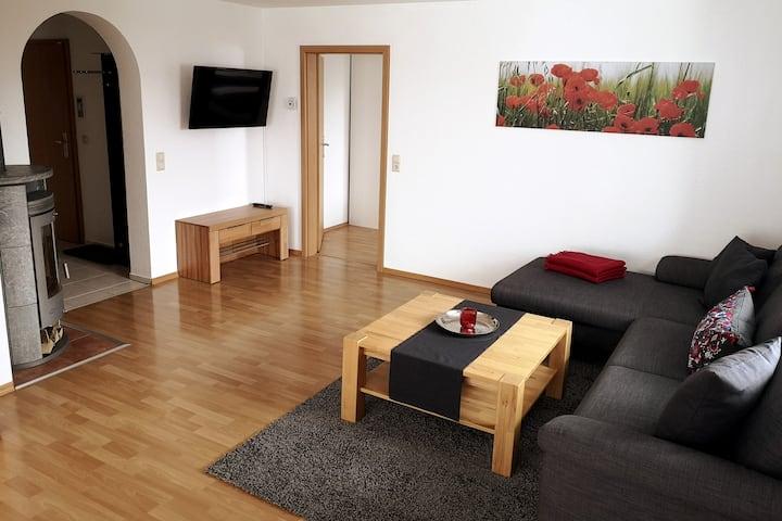 Sehr schöne 90qm Ferienwohnung mit 2 Schlafzimmern