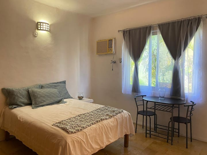 Beautiful clean room with private bathroom