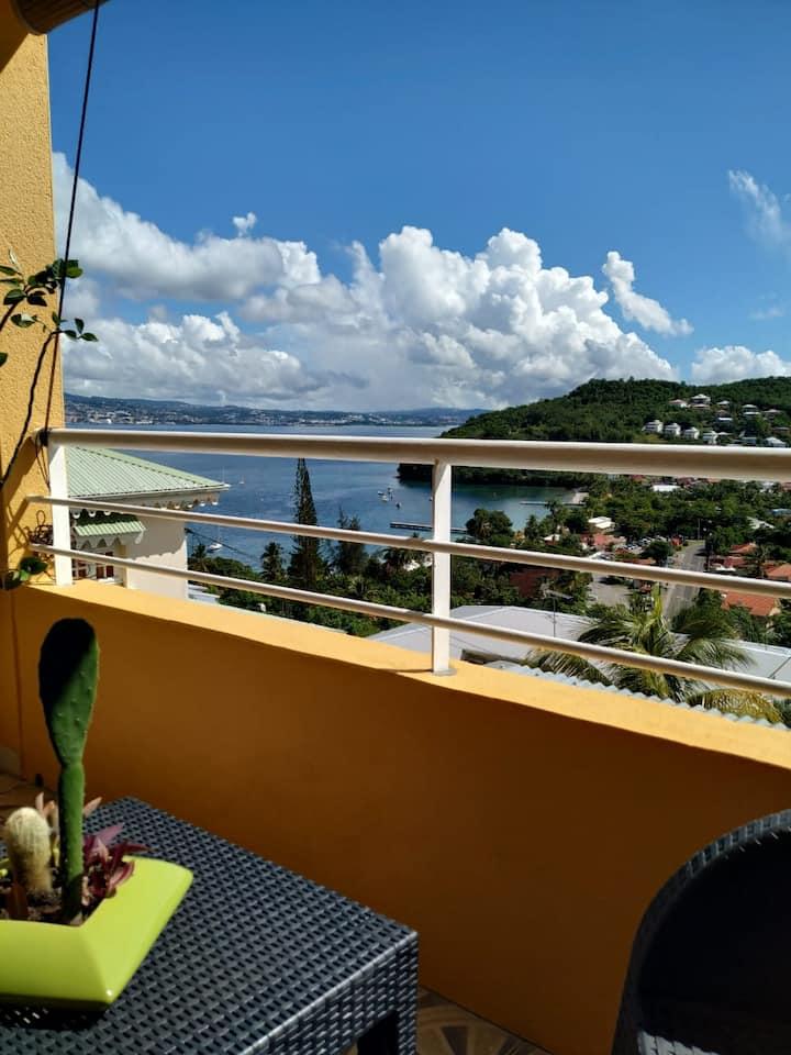 F3 Oasis Vue sur mer (Villa Timothée)