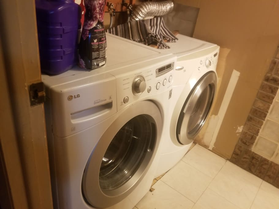 You can do your own laundry or have it done for you.