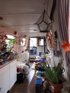 Cosy Peaceful Narrowboat close to Heathrow - Brentford