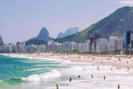 Heart of the South and Copacabana (wave p/Carnival - Rio de Janeiro