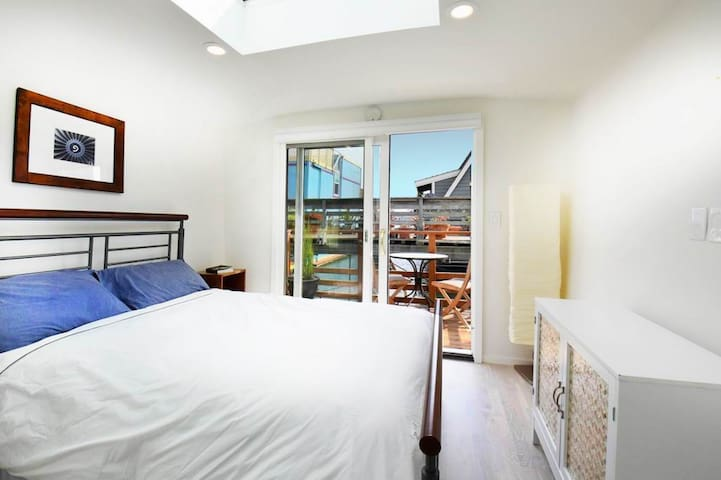 Bedroom facing to East Balcony