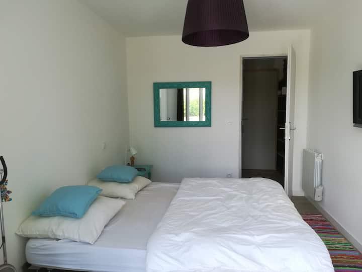chambre avec SDB indépendante dans maison