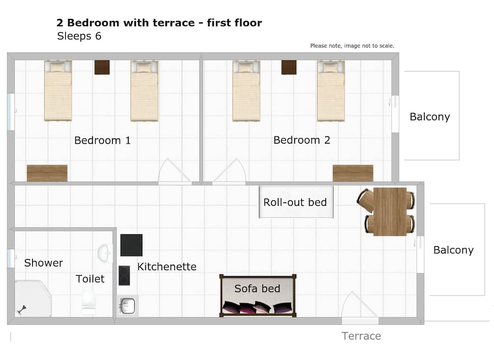Floor plan: apartment.