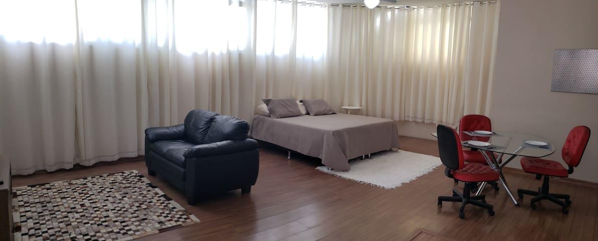 Loft charmoso, equipado, bem localizado, Prado/BH