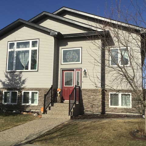 Separate Entrance with 3 bedrooms, own washroom