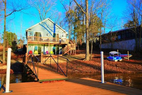 """Deja Blue"" - on Lake Murray in South Carolina"