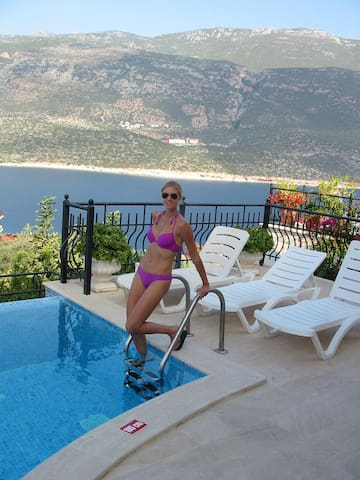 Fantastic villa in Kas  private pool and near see - Kaş - Casa