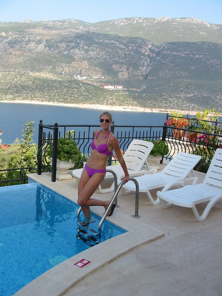 Fantastic villa in Kas  private pool and near see