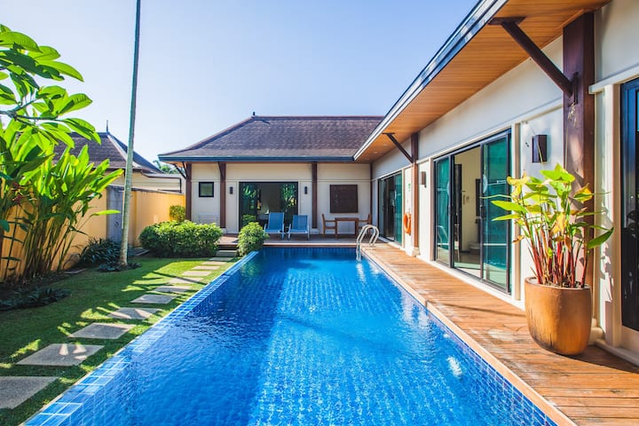 VW:9 Oriental Layan Beach 3 Beds Pool Villa [SV6]
