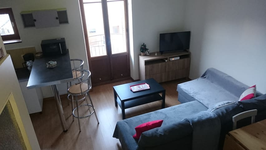 Duplex apartment in Villard-de-Lans city center - Villard-de-Lans - Daire