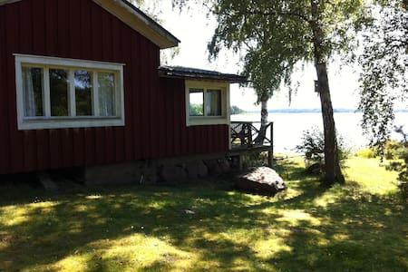 Charmig naturnära stuga med privat läge - Vårdö - Kabin