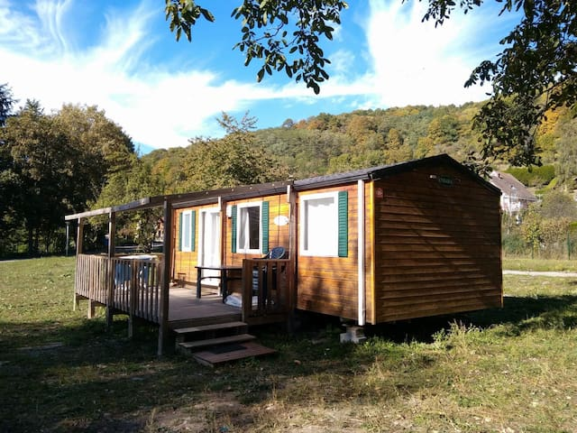 Mobilhome in Munster, Vosges - Munster - 平房