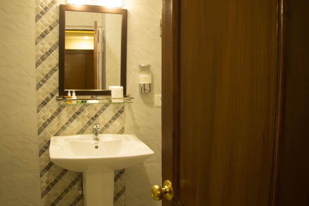 Bathroom of the room
