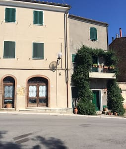House in Tuscany with terrace ideal for families - Civitella Marittima