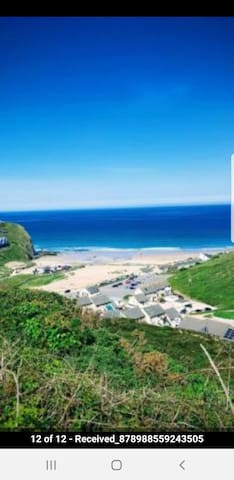 Porthtowan Home with a Sea View