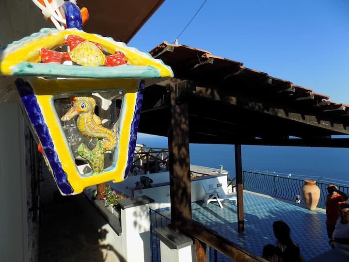 Todisco holiday house amalficoast seaview