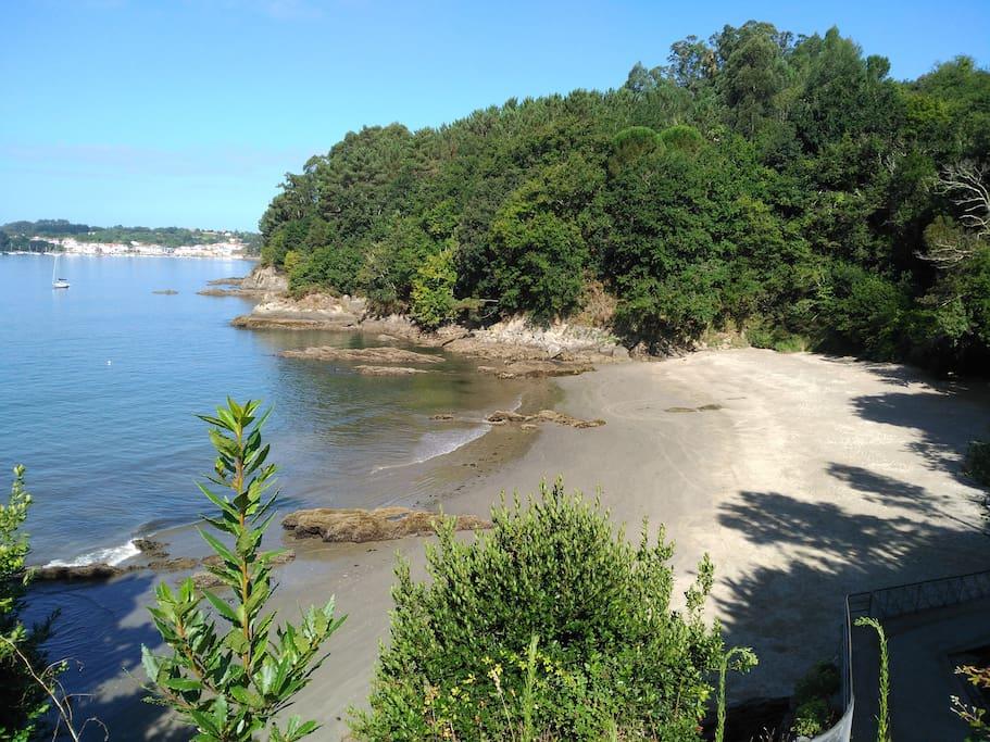 Playa Almieiras