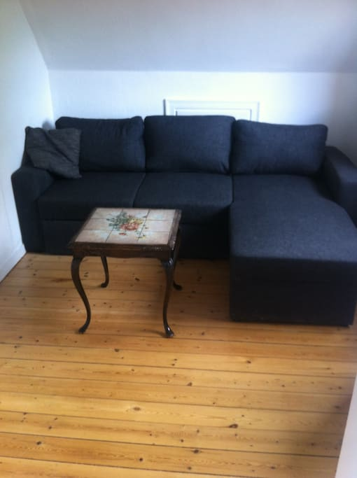 sofabed for 2 persons